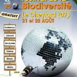 2me festival de la biodiversité le Cheylard 21 Aout 2010
