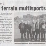 MARIAC, le nouveau terrain multisports: 18 Sept 2013