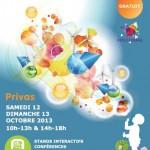 Inauguration du Village des Sciences à Privas: 12 Oct 2013
