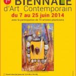 1ère Biennale d'art contemporain: 6 juin 2014