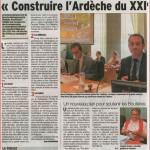 Construire l'Ardèche du 21° siècle: DL 7 Juillet 2014