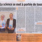 Fête de la science: 26 Sept-29 Oct 2014