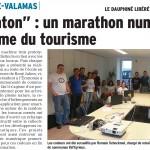 St Martin de Valamas: un marathon numérique,  25 Août 2015