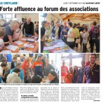 Forum des associations: 7 Sept 2015