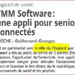 TMM Software, une appli pour sénior: 25 Juillet 2015