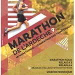 6me Marathon de l'Ardèche le 4 Septembre 2016
