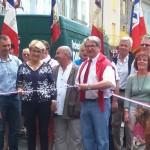 Inauguration de la place Saléon Terras; 14 juillet 2016