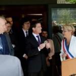 Val'Eyrieux: Manuel Valls : « Ruralité et numérique vont de pair en Ardèche »