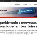 FranceInfo, #OnFaitQuoiDemain, 21 Février 2017