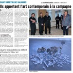 St Martin de Valamas: ils apportent l'art contemporain à la campagne