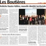 Ardèche, hautes-vallées: nouvelle identité territoriale