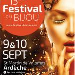 St Martin de Valamas: 13eme festival du bijou