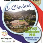 France Quadrette Vétérans: Septembre 2018