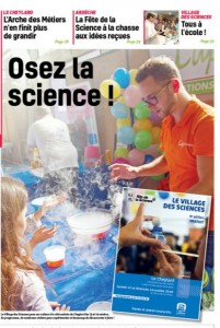 Fête de la science et de l'innovation: 13-14 Octobre 2018